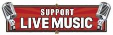 SUPPORT LIVE MUSIC